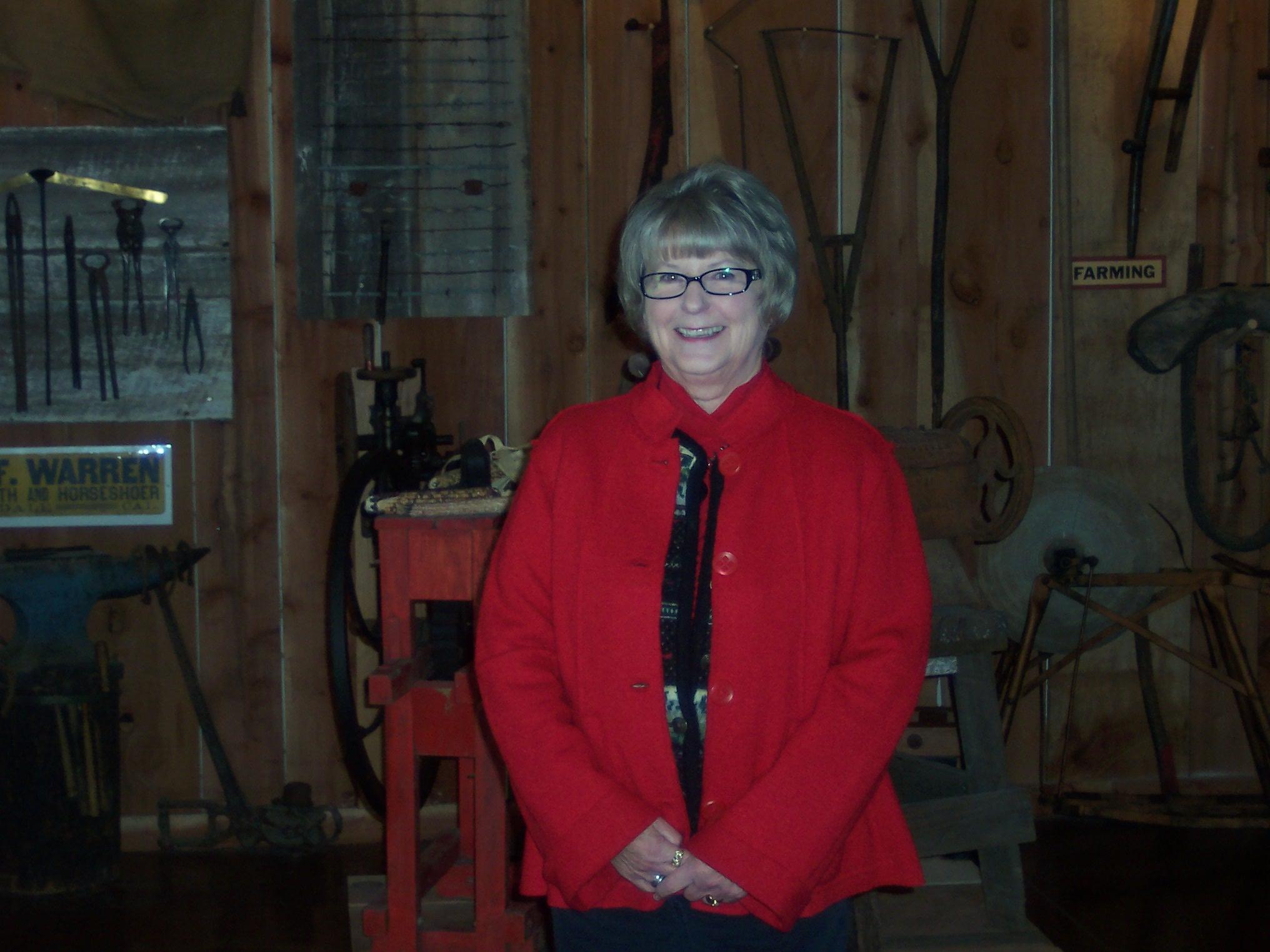 President Sue Jackson