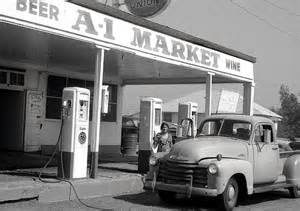 cloverdale gas station '50's